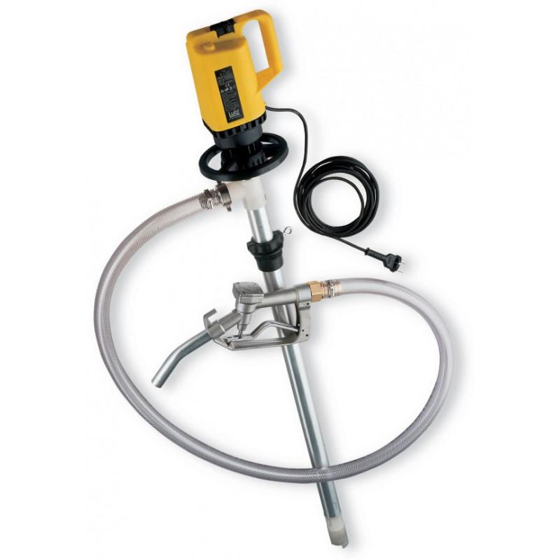 Pompe vide-fût ou cuve 1000l IBC GRV pour Huiles - produits pétroliers