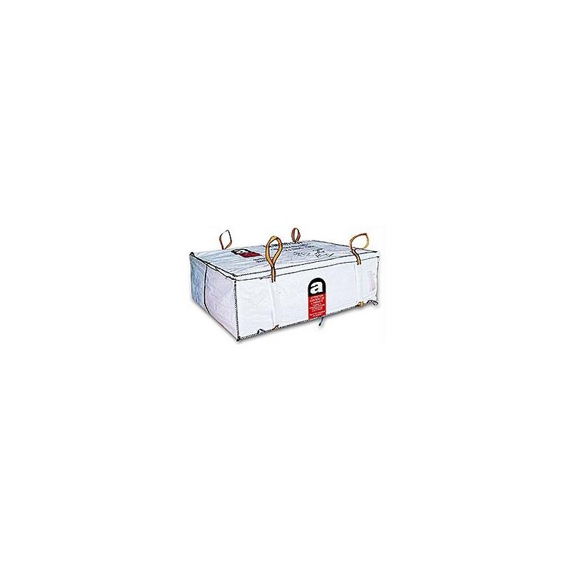 depot bag amiante liée pour plaques