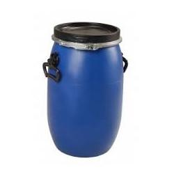 Fût polyethylène haute densité 30l, ouverture totale