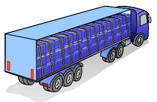 Arrimage camion