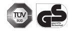 Certification TUV GS